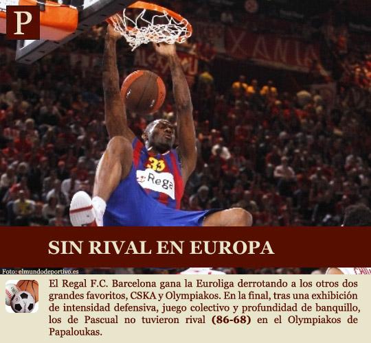 El Barça gana la Euroliga