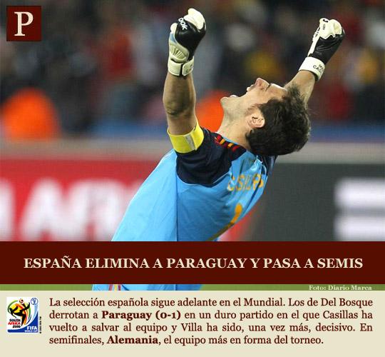 España hace historia y llega a semifinales