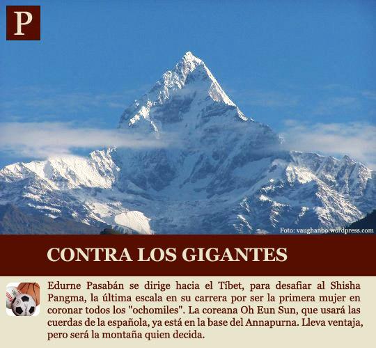 Pasabán corona el Annapurna