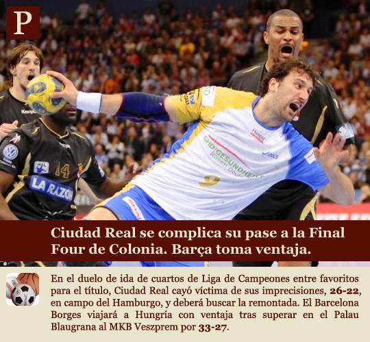 Balonmano, Liga de Campeones