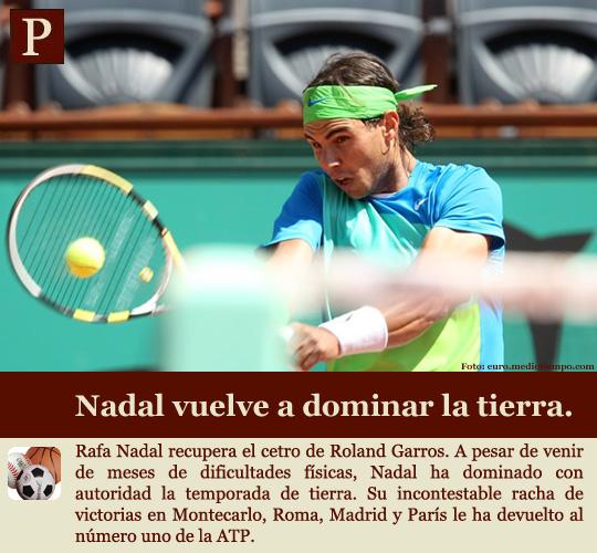 Nadal gana su 5º Roland Garros