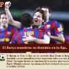 El Barça se impone en la liga más difícil