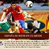 España sigue adelante en el Mundial