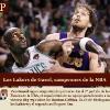 Los Lakers de Pau Gasol, campeones de la NBA