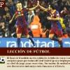 El Barça se exhibe ante el R. Madrid