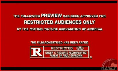 The Happening. Restricted audiences