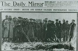 La tregua en el Daily Mirror