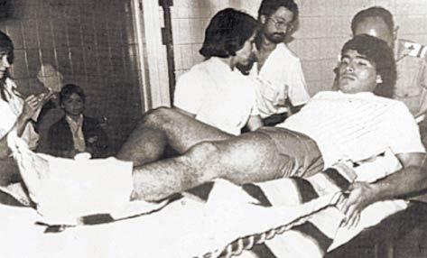 Operación de Diego Maradona