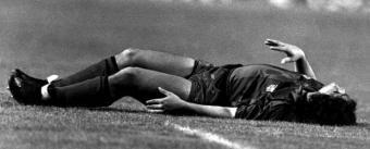 Maradona lesionado