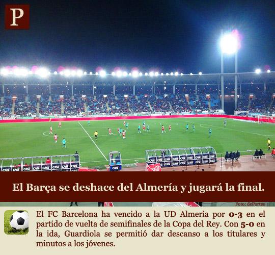 El Barça jugará la final de la Copa del Rey