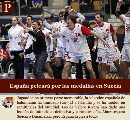 España luchará por las medallas en el Mundial